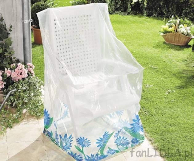 Pokrowiec na meble ogrodowe cena 14,99PLN chroni krzesła przed