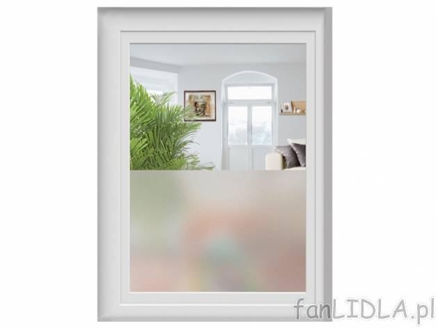 Folia matowa na okno anonimizer wystr j wn trz for Melinera folie