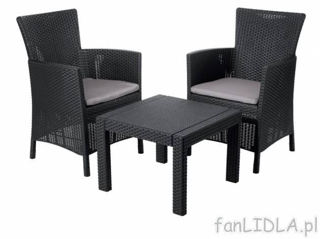 zestaw mebli z technorattanu florabest ogr d. Black Bedroom Furniture Sets. Home Design Ideas