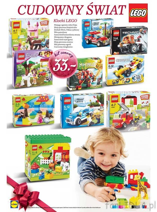 Gazetka Lidl klocki Lego, Dla dzieci  fanLIDLA pl -> Kuchnia Dla Dzieci Lidl Opinie