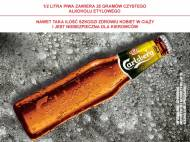 Carlsberg Gold Premium Lager , cena 1,00 PLN za 400 ml/1 but., ...