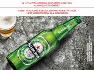 Heineken , cena 2,00 PLN za 500 ml/1 but., 1 l=5,58 PLN.