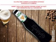 Carlsberg Export , cena 1,00 PLN za 400 ml/1 but., 1 l=4,98 PLN.