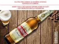 Krusovice Imperial jasne , cena 3,00 PLN za 500 ml/1 but., 1 ...