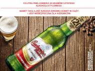 Budweiser Strong , cena 1,00 PLN za 330 ml/1 but., 1l = 6,03 PLN.