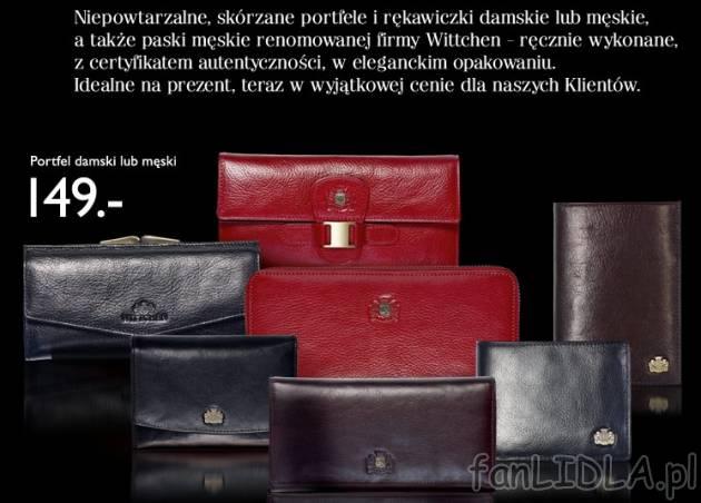 ad4d29159eb6c Portfel damski lub Wittchen, Moda, odzież - fanLIDLA.pl