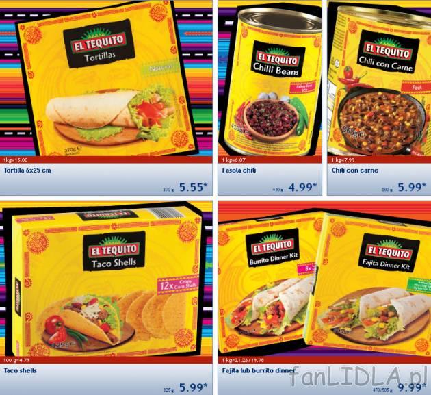 Dania Kuchni Meksykanskiej W Lidlu El Tequito Artykuly Spozywcze