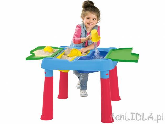 Stół Wodny Playtive Junior Dla Dzieci Fanlidlapl