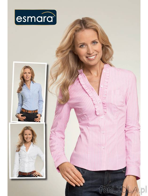 cfa4b692b99ab4 Damska koszula biznesowa, cena 39,99PLN - z długim rękawem -  wysokojakościowe .