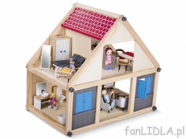 Drewniany Domek Playtive Zabawki Dla Dzieci Fanlidlapl