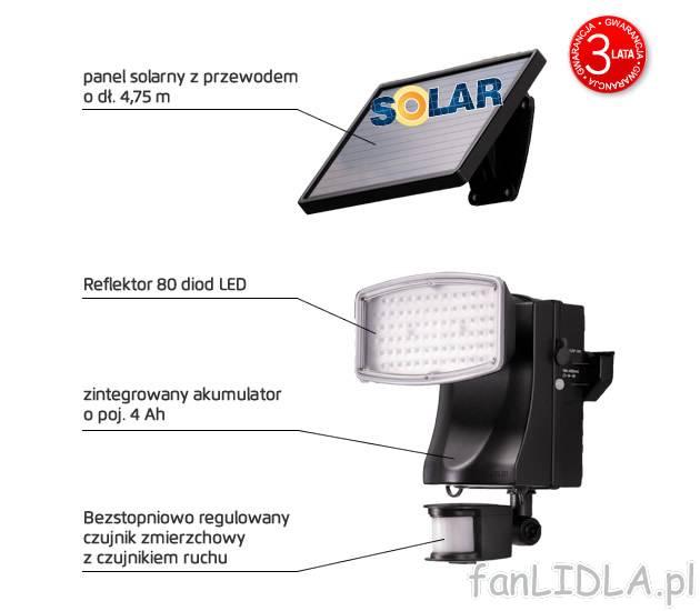 Reflektor Solarny Livarno Lux Oswietlenie Swiatła