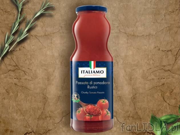 Pomidory Rozdrobnione Passata Pomidorowa Italiamo Artykuły