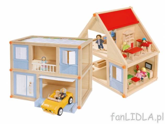 Drewniany dom dla lalek , Zabawki dla dzieci fanLIDLA.pl