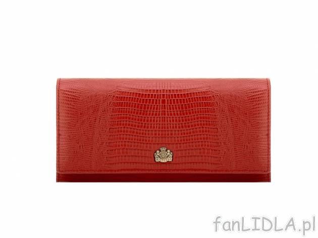 eeefa01b31766 Skórzany portfel Wittchen, Moda, odzież - fanLIDLA.pl