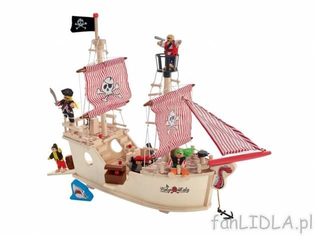 Drewniany Statek Playtive Junior Zabawki Dla Dzieci Fanlidla Pl