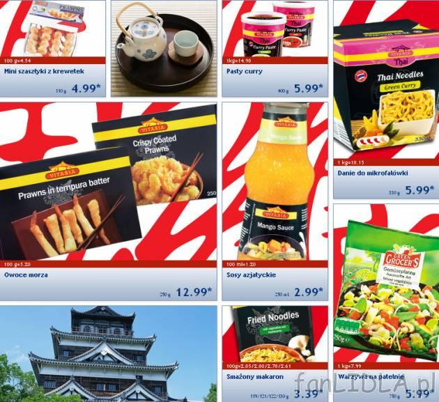 Kuchnia Azjatycka W Lidlu Vitasia Artykuły Spożywcze