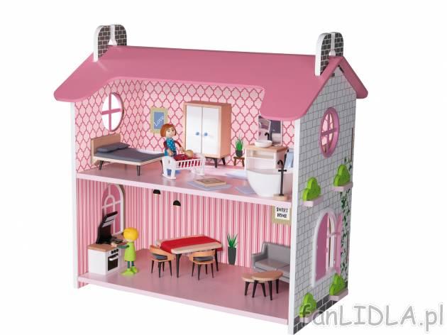 Drewniany domek dla lalek Playtive Junior, Zabawki dla