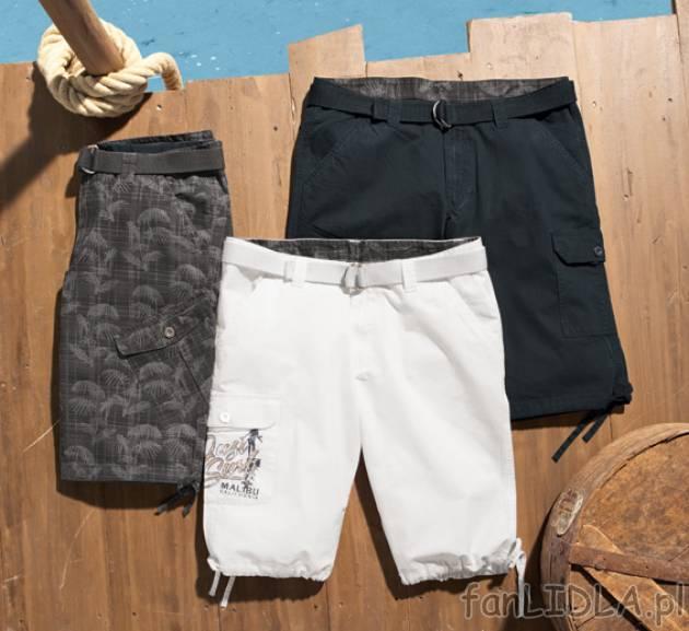 lidl spodnie krótkie męskie livergy