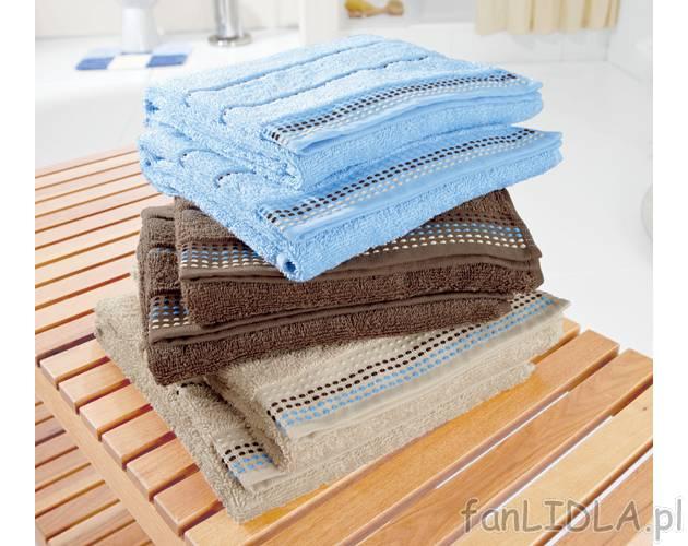 Ręczniki Frotte Miomare łazienka Wyposażenie Wystrój Fanlidlapl
