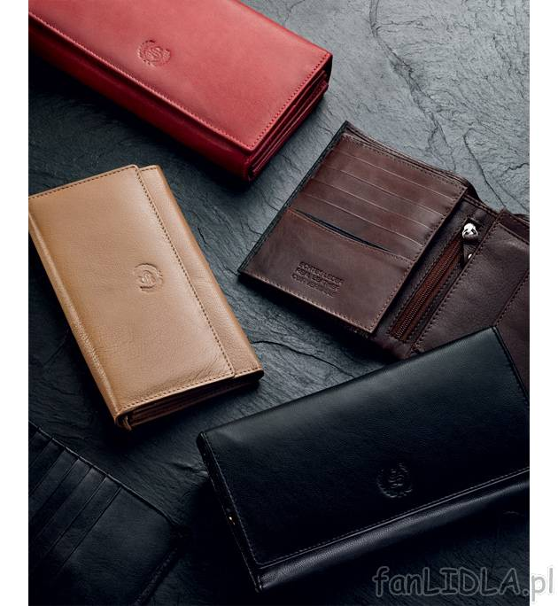 7887cd14fb91d Skórzany portfel , Moda, odzież - fanLIDLA.pl