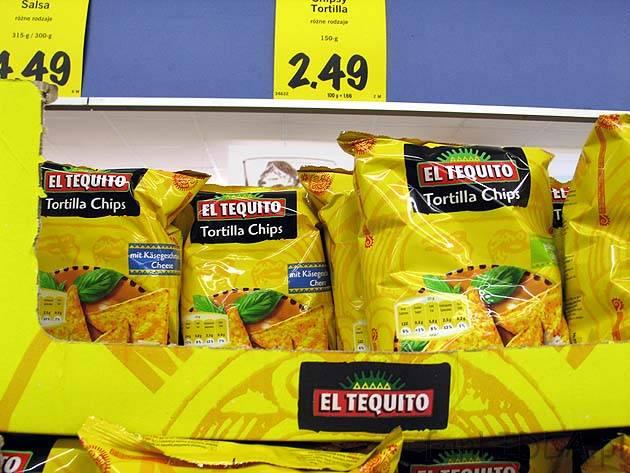 El Tequito Chipsy Tortilla Nachos Z Lidla El Tequito