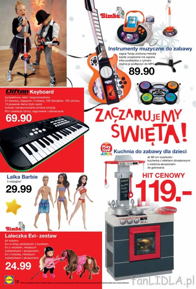 Instrumenty Muzyczne Do Zabawy I Keyboard Clifton Simba Playtive