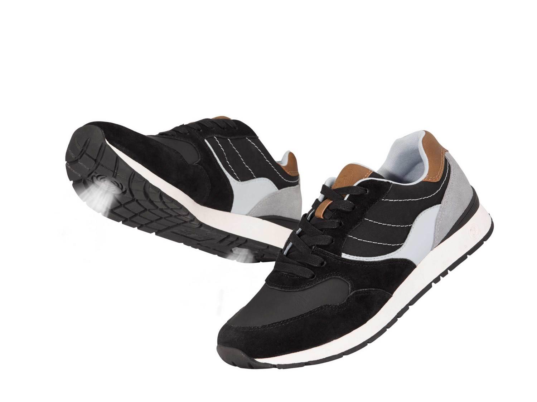 Buty Air Fresh sportowe z prawdziwej skóry wstawki Livergy
