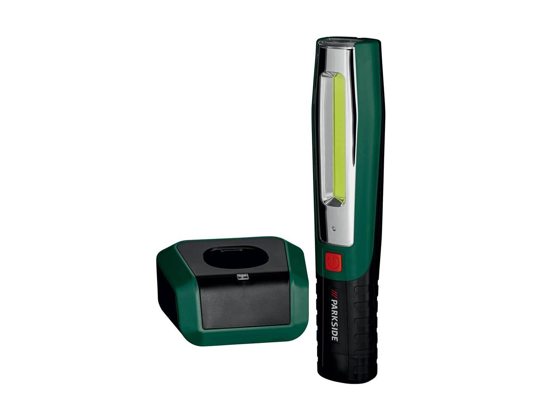 Akumulatorowa lampa LED Parkside, Warsztat, narzędzia